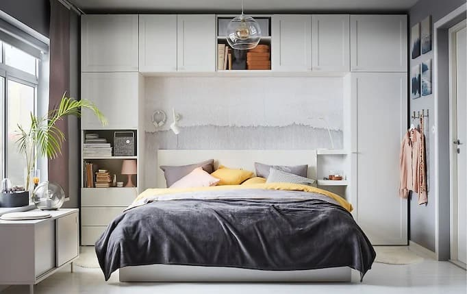 65 Amazing Small Bedroom Ideas to Create Space - Amazing Bed Head