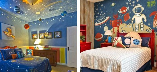 Decorate Your Kid's Bedroom With Space Theme