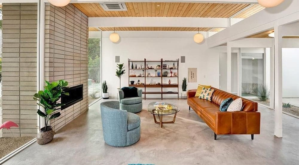 What Is Mid Century Modern Design Style Interior Fun