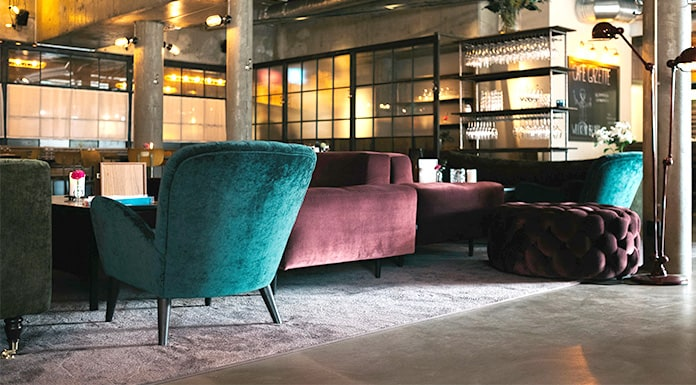 Designing Industrial Interior Design - Living Room