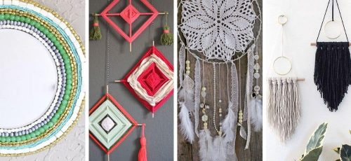 Best DIY Boho Wall Decor Projects