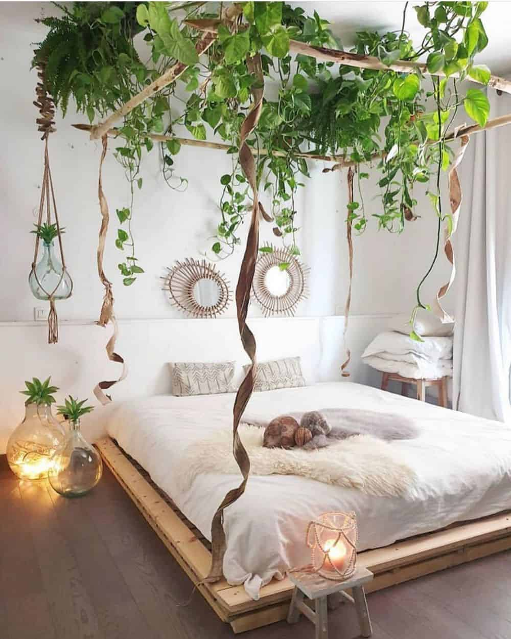 Cool Bedroom Ideas for the Ultimate Comfort - Bringing the Outdoors Inside