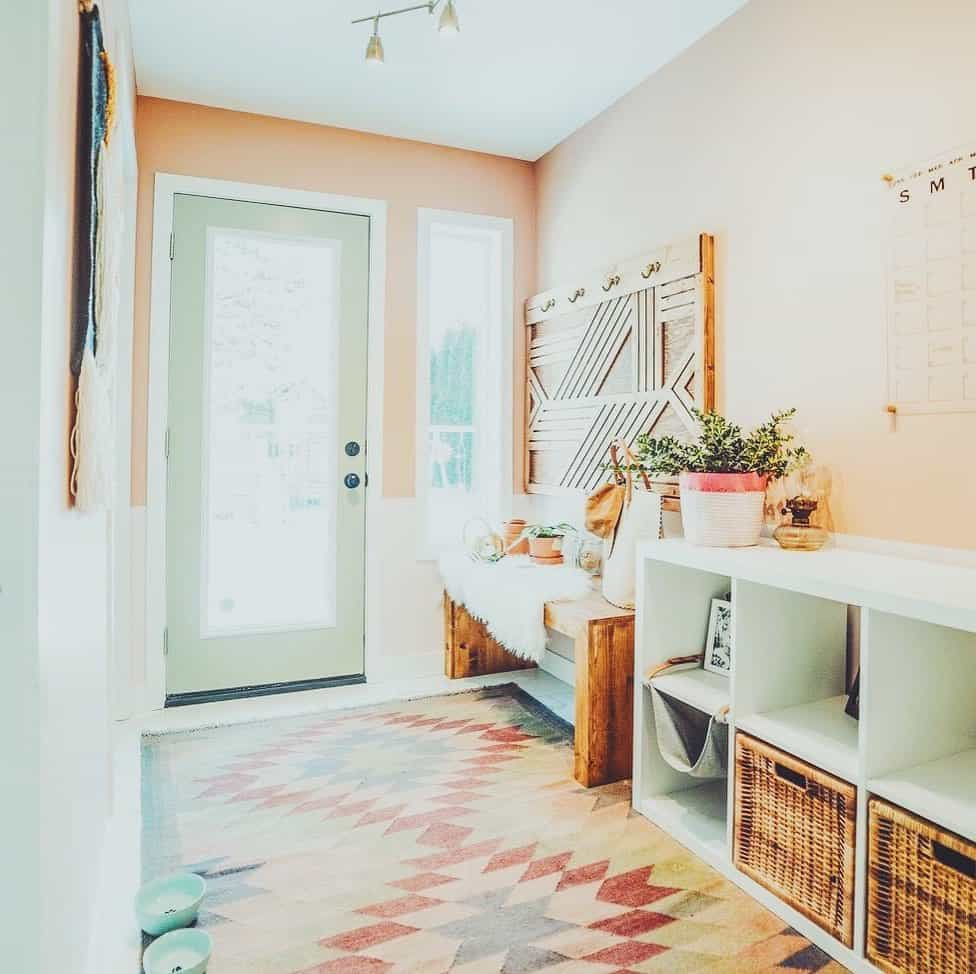 Worth Trying Mudroom Ideas for the House - Bohemian Look