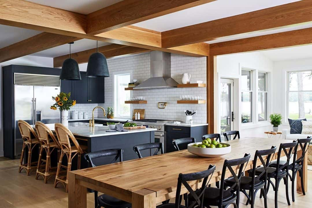 Kitchen Designs You Will Fall in Love With - Place for Gathering