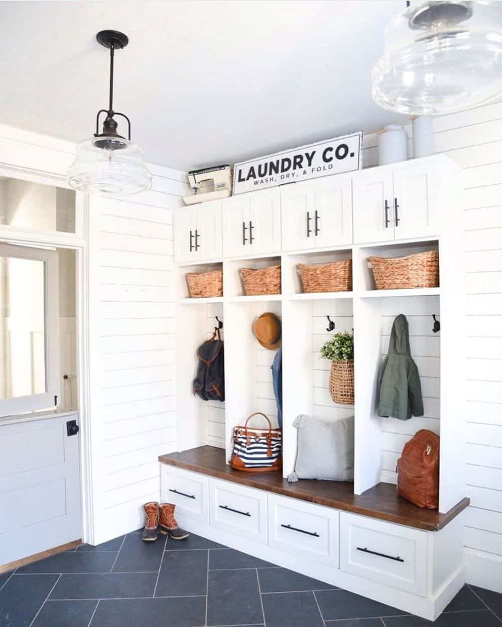 Worth Trying Mudroom Ideas for the House - Vintage Locker