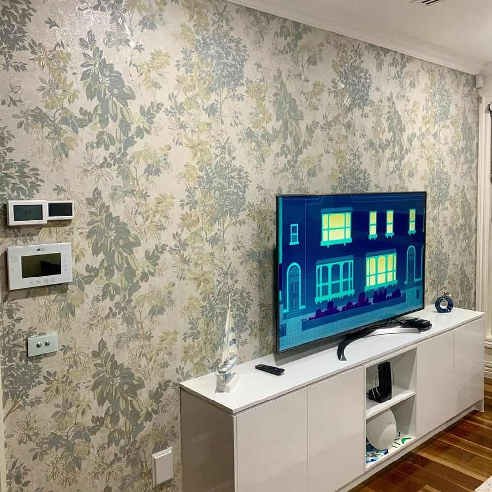 Top 6 Ideas To Decorate Your TV Wall - Textured Wall