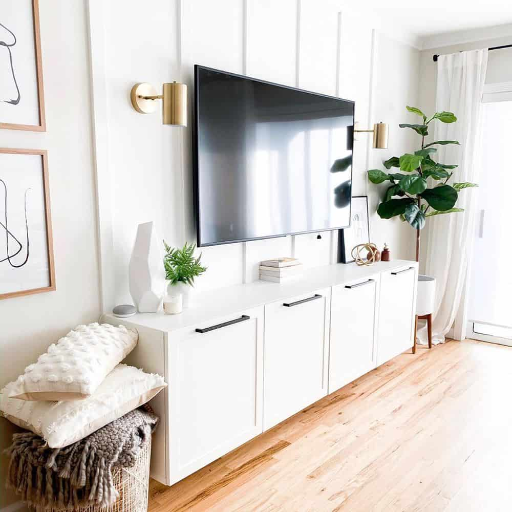 Top 6 Ideas To Decorate Your TV Wall - Keeping It Simple