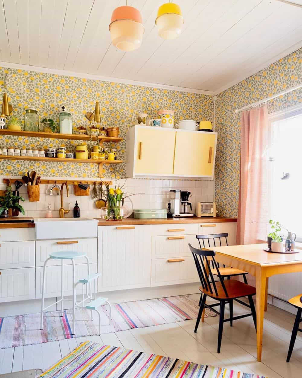 Timeless Kitchen Designs You Will Fall in Love With - Vintage Accents
