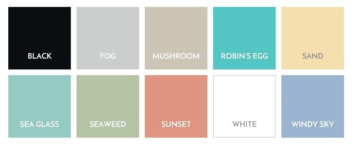 Cottage Style Color Palette