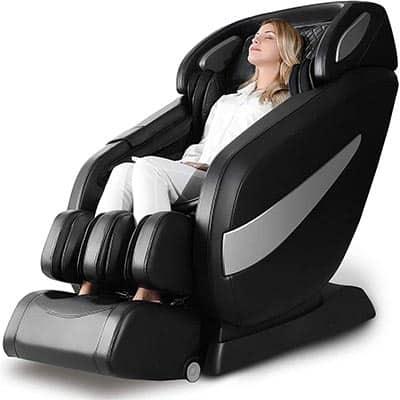 Massage Chair, Zero Gravity SL Track Massage Chair, Full Body Shiatsu Massage Chair Recliner