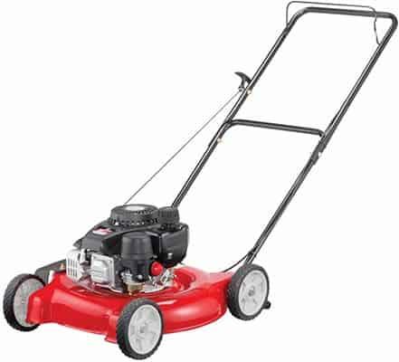 Yard Machines 132cc 20-Inch Push Gas Lawn Mower - Mower for Small to Medium Sized Yards