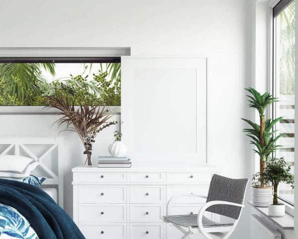 coastal style bedroom