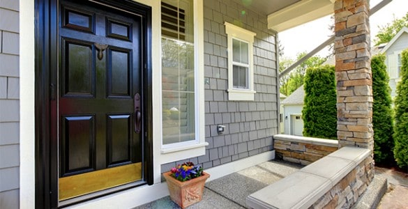 front door colors for tan house