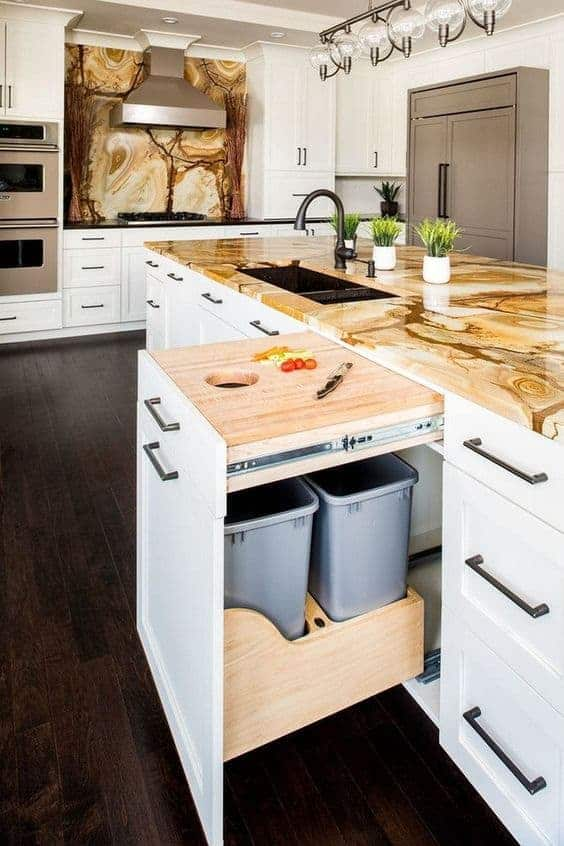 Great Kitchen Island Ideas For Your Inspiration - Pull Out Island