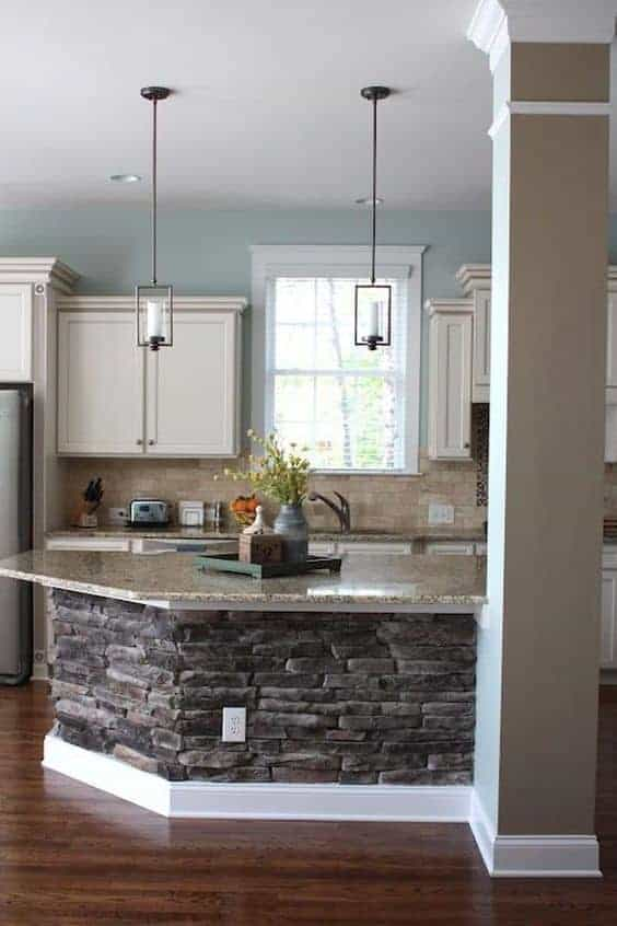 Great Kitchen Island Ideas For Your Inspiration - Stone Kitchen Island