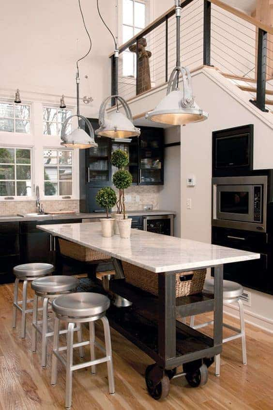 Great Kitchen Island Ideas For Your Inspiration - Movable Kitchen Island