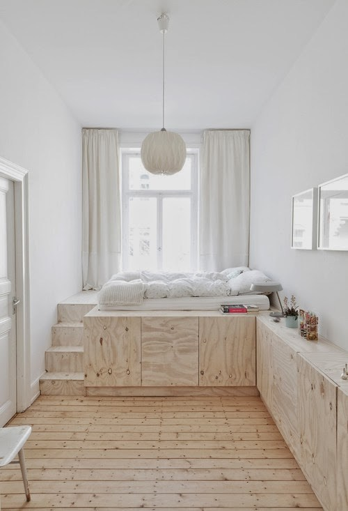 Source: Contemporist.com 65 Amazing Small Bedroom Ideas To Create Space    Storage Solution For Small Bedrooms