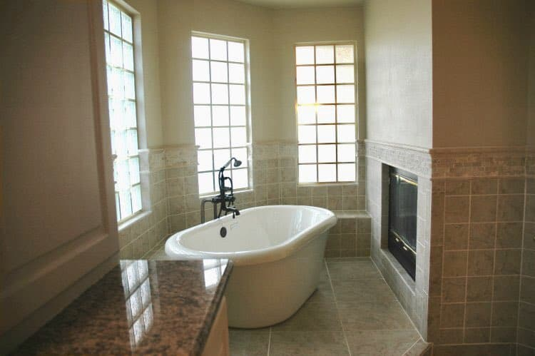 5 stylish bathroom tile ideas to get inspired - Wainscoting for Bathroom Walls