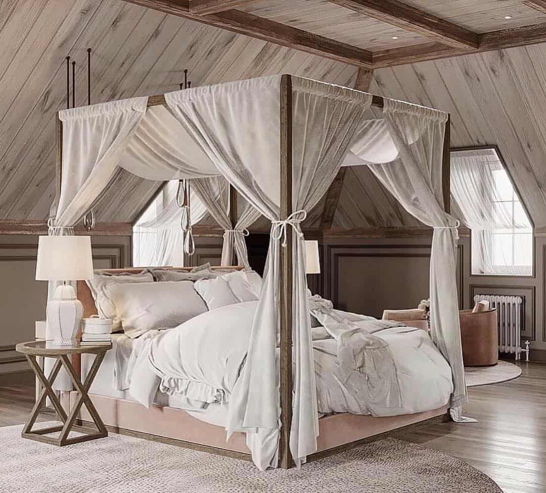 Remodeling Your Master Bedroom With Great Ideas - Canopy Bed