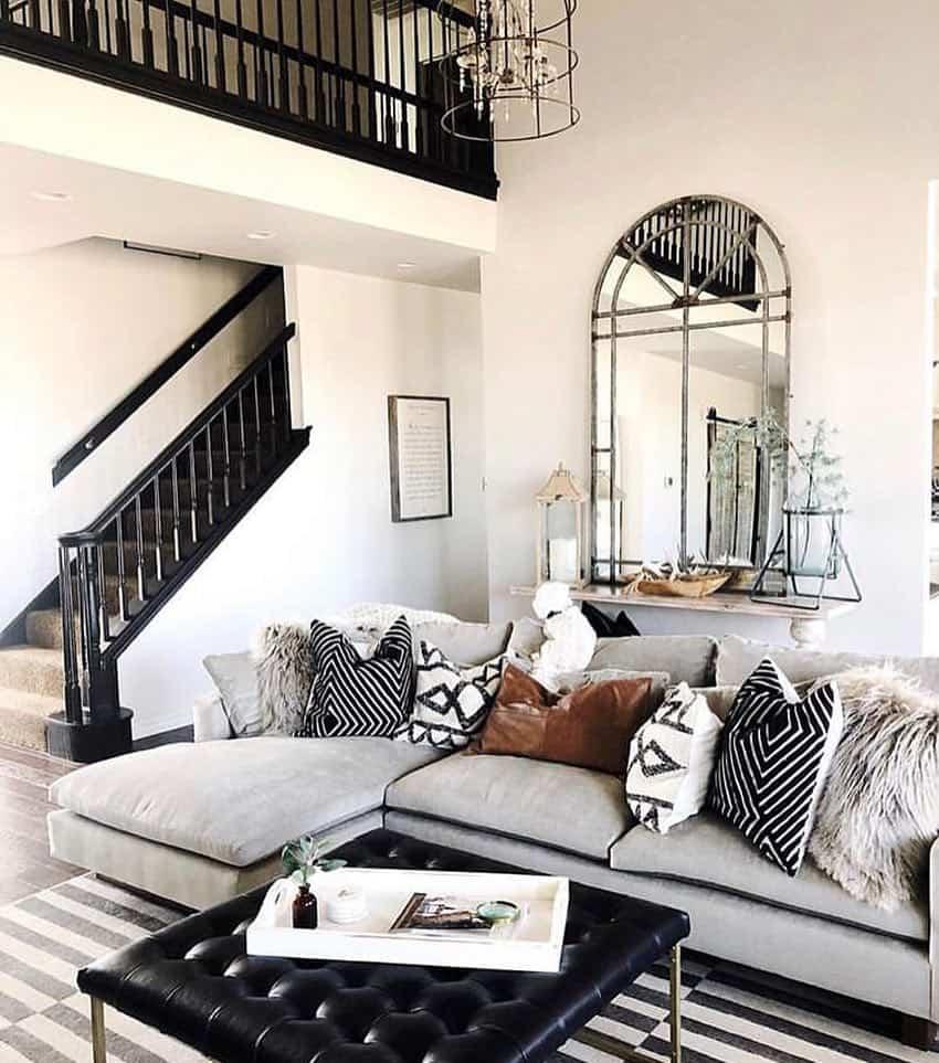 scandinavian nordic interior design with furniture and architecture - Adding Warmth