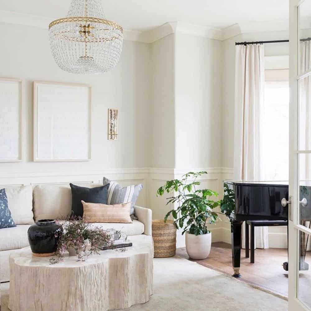 How To Make Your Living Room Look Bright - The White Shade