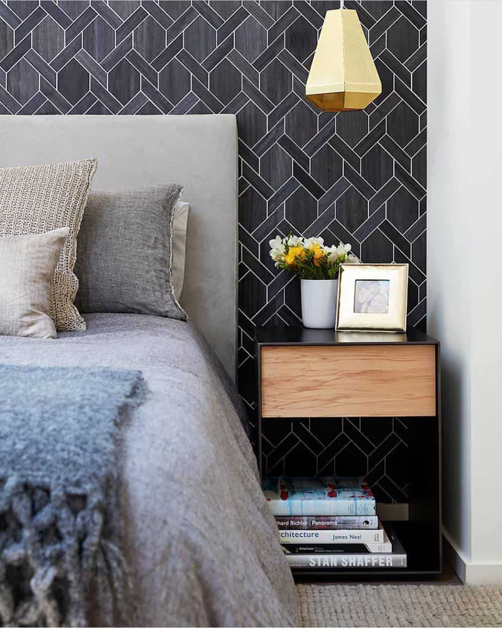 Remodeling Your Master Bedroom With Great Ideas - Wallpaper Option