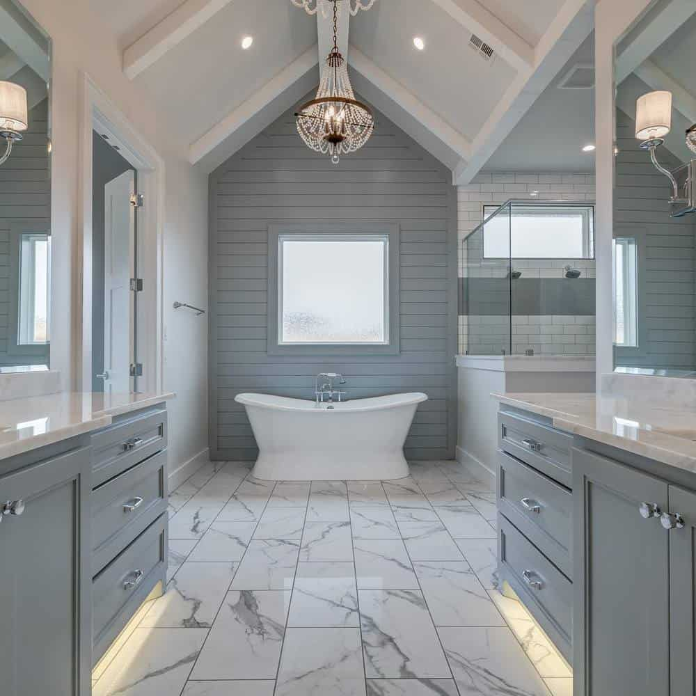 What Is Transitional Style - Bathroom