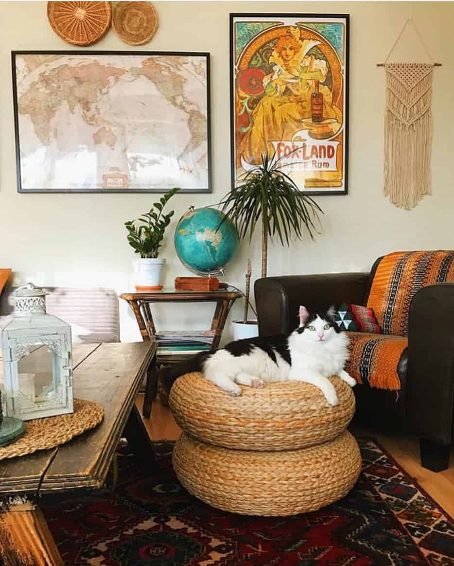 Bohemian Interior Design - Antiques/ Vintage items