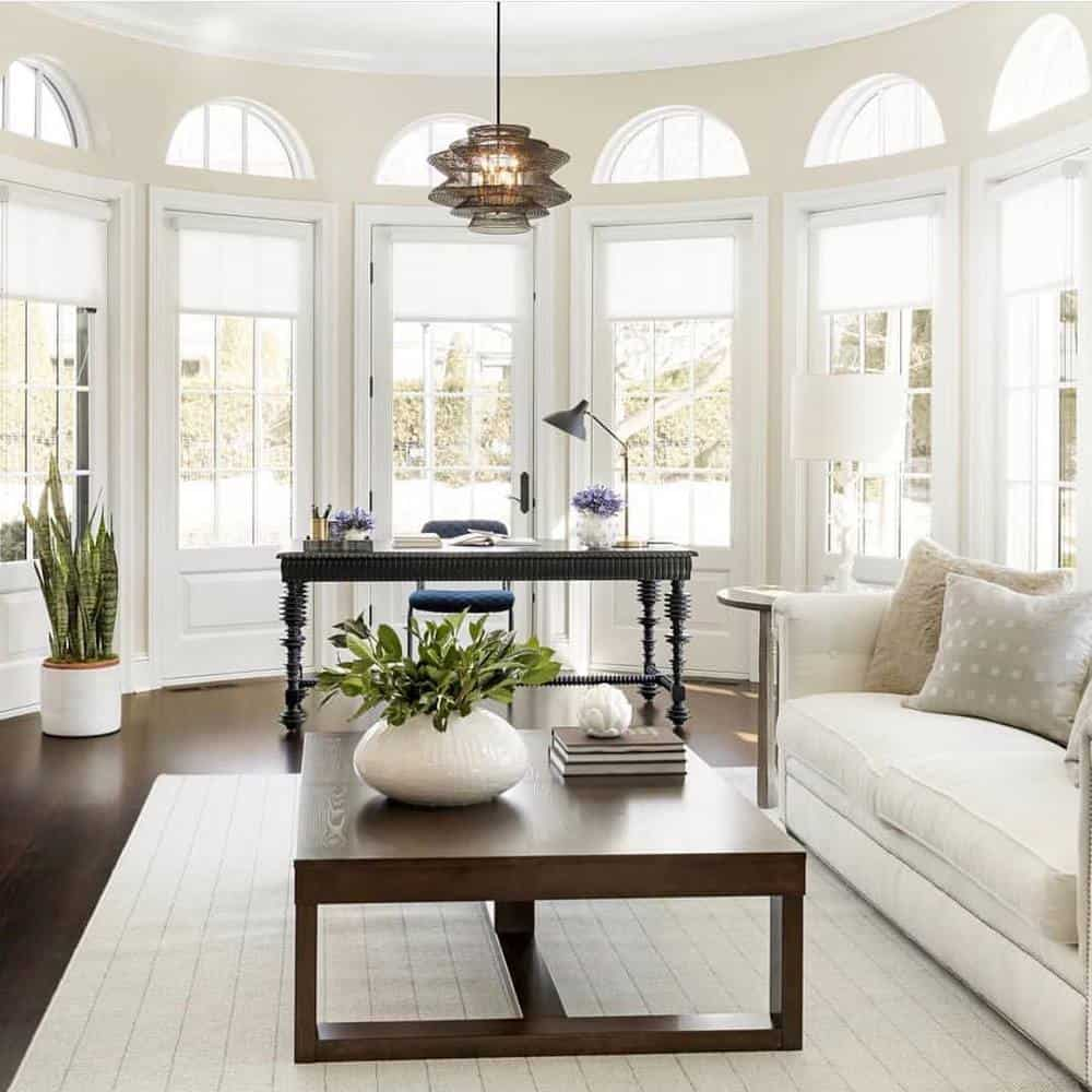 How To Make Your Living Room Look Bright - Huge Windows