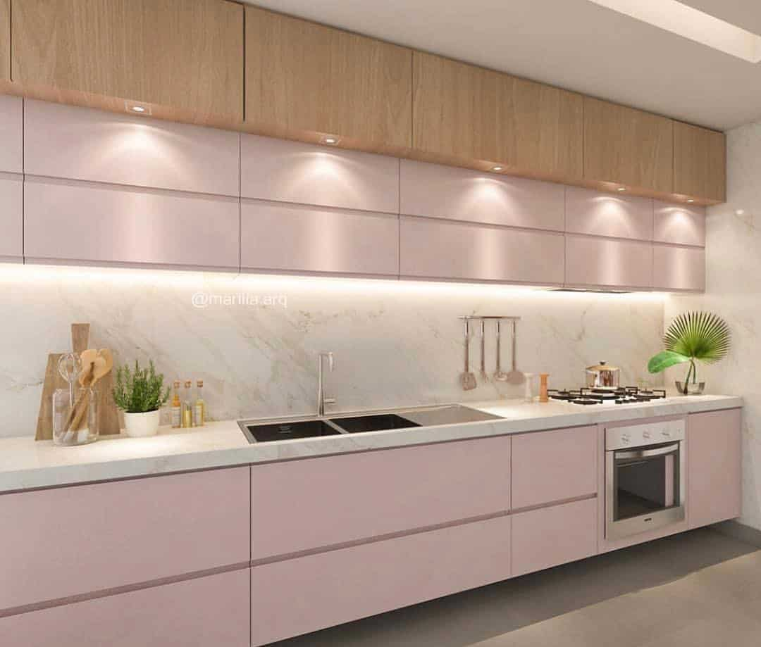 Best Ideas to Decorate Your Modern Country Kitchen - Panel and Backsplash Lighting