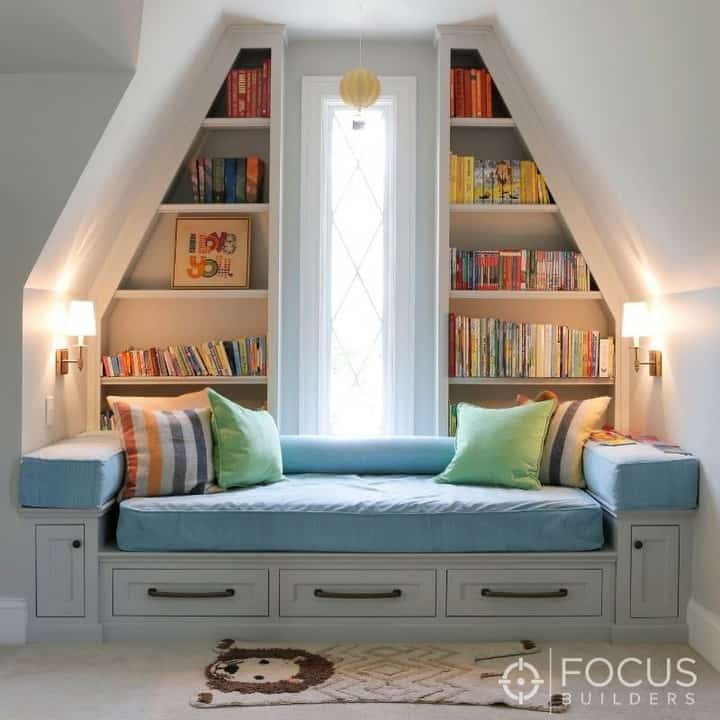 65 Amazing Small Bedroom Ideas to Create Space - Nook Bed Style