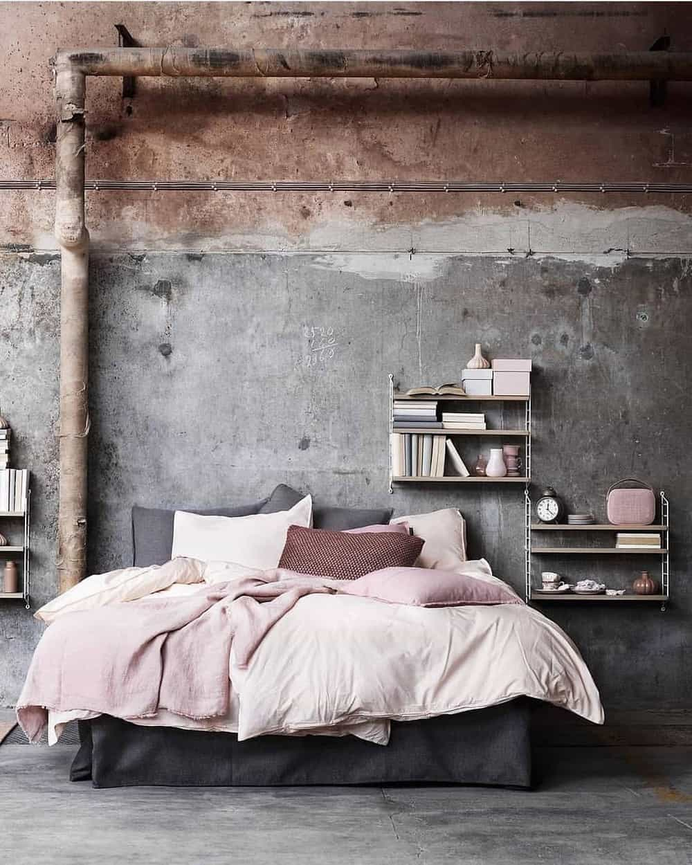 65 Amazing Small Bedroom Ideas to Create Space - The Sleek Look with Two Different Style