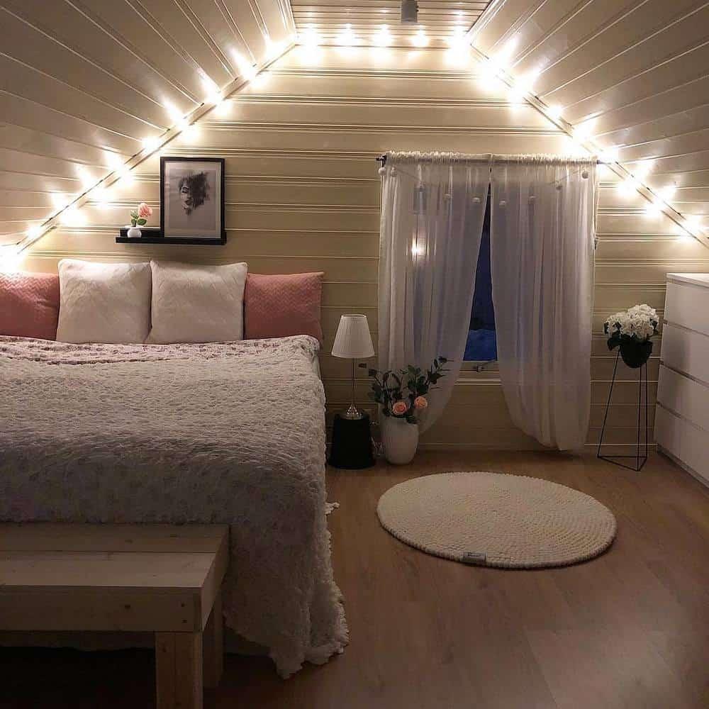 65 Amazing Small Bedroom Ideas to Create Space - Attic Bedroom Designs