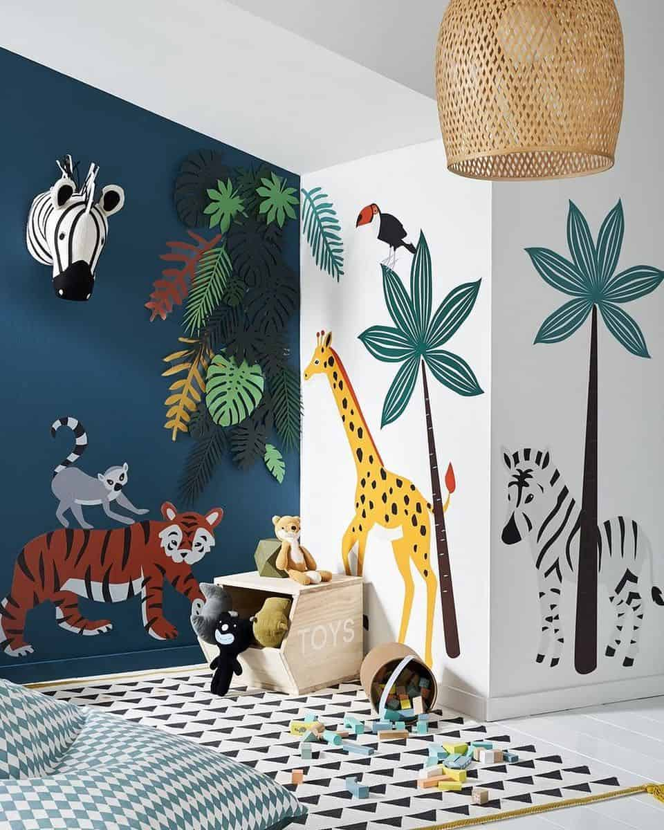 65 Amazing Small Bedroom Ideas to Create Space - Playground Bedroom Theme