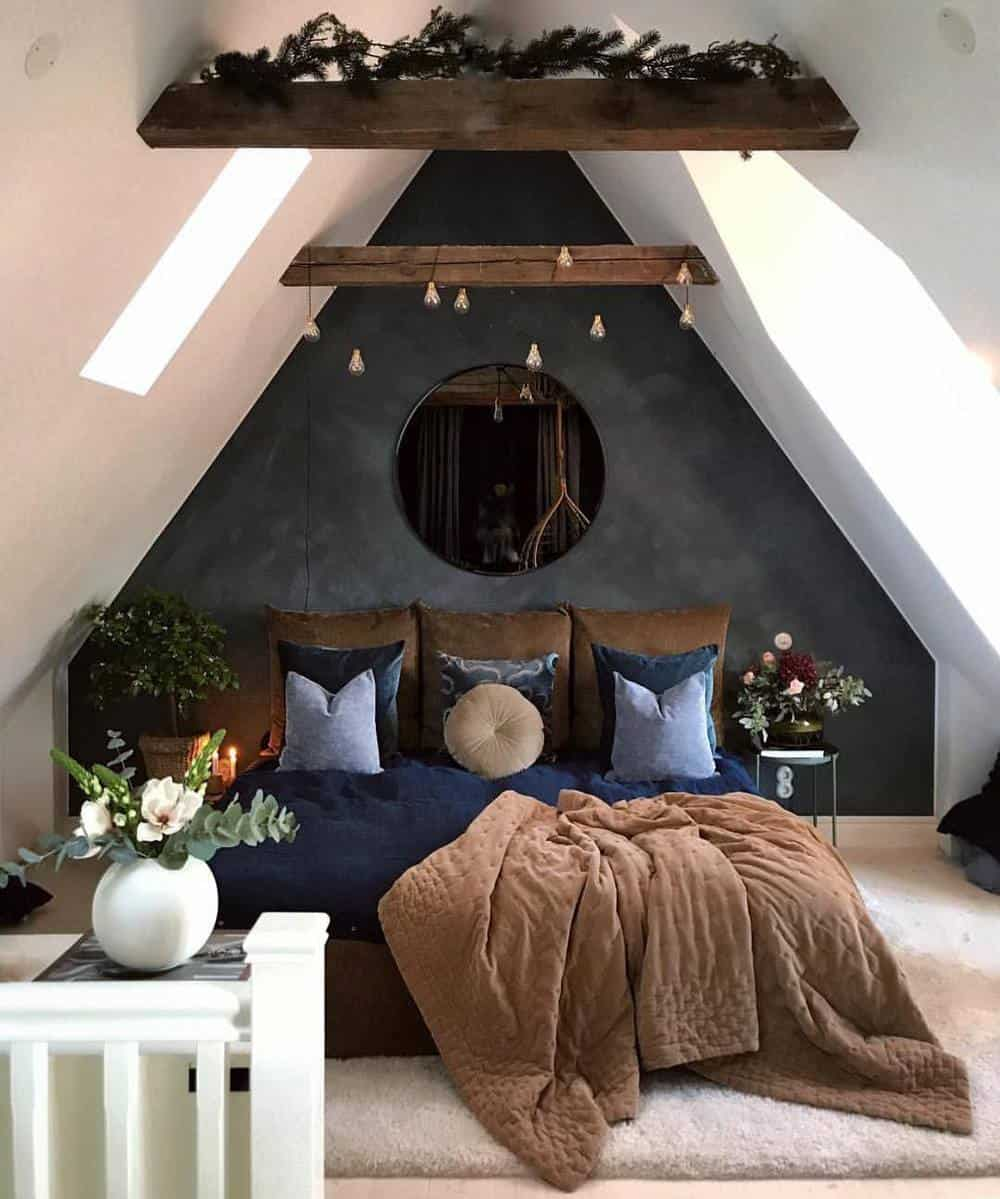 65 Amazing Small Bedroom Ideas to Create Space - Attic Bedroom Designs