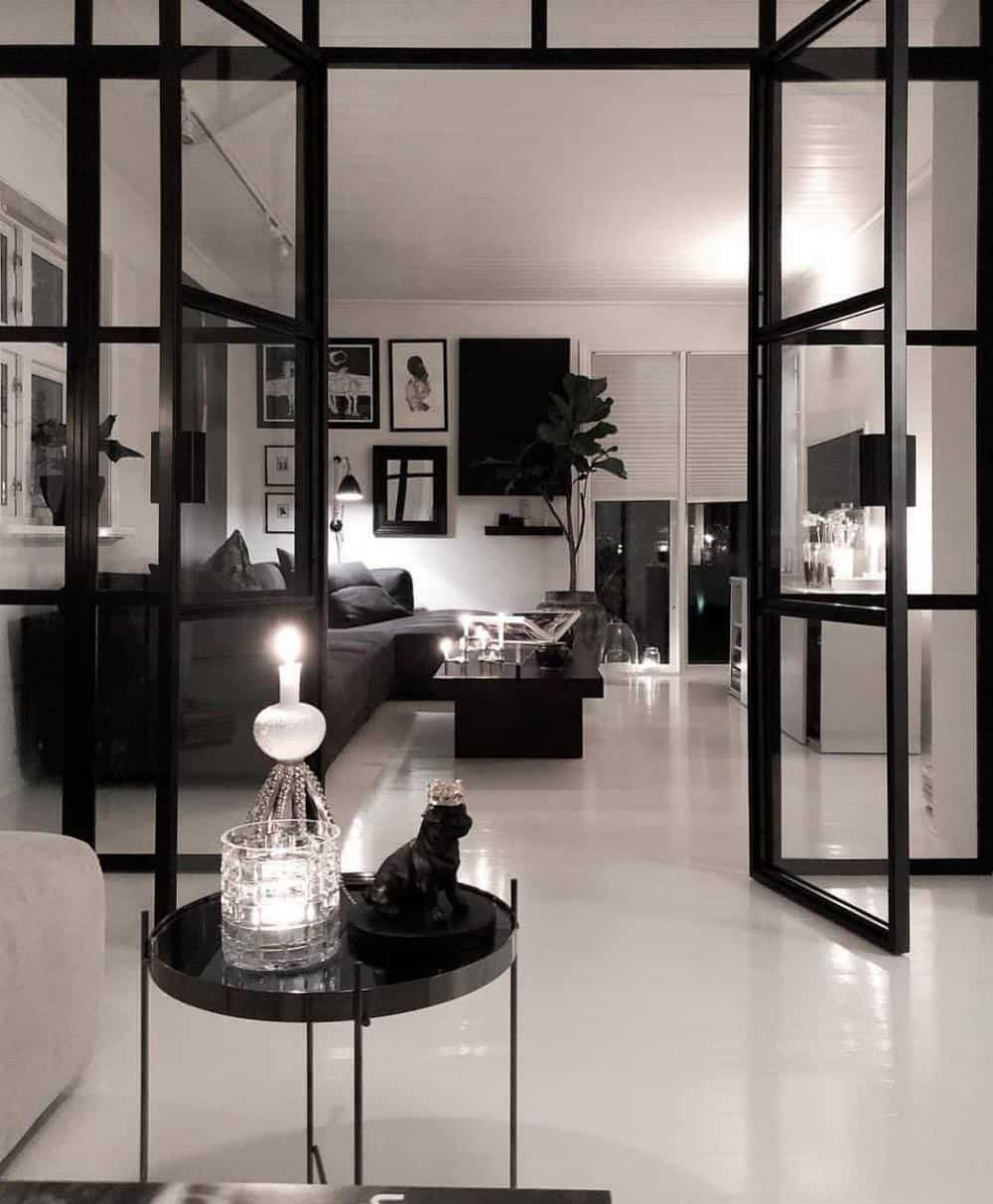 Decorate Your Living Room With These Inspiring Wall Ideas - Monotone Home Theme