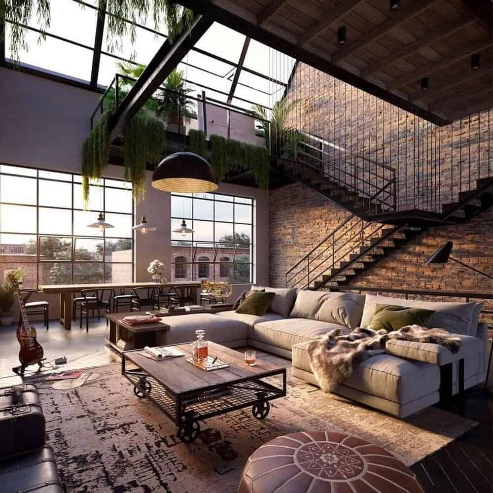 How to Bring Industrial Chic Into Your Home - Color