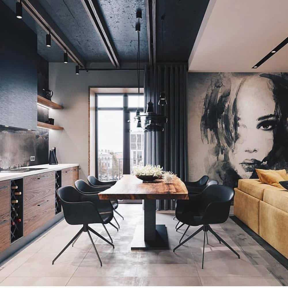Decorate Your Living Room With These Inspiring Wall Ideas - Abstract Painting