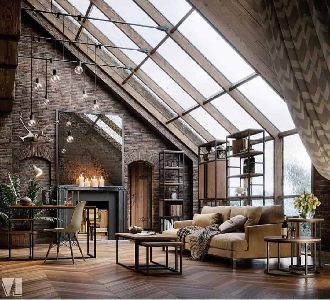 How to Bring Industrial Chic Into Your Home - Material